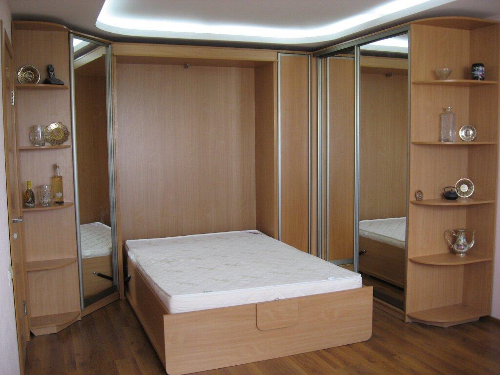 схема установки шкафа-кровати